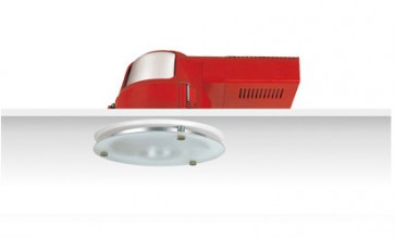 Uni PL Downlight with S.Frost Reflector and Dropped Frosted Glass Sunny Lighting