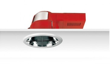 Uni PL Louvered Reflector Downlight with Dress Ring Sunny Lighting