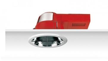 Uni PL Polish Cross Lourve Reflector Downlight with Dress Ring Sunny Lighting