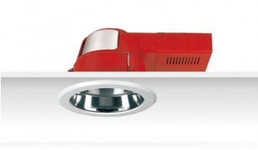 Uni PL Polish Reflector Downlight with Dress Ring Frosted Glass Sunny Lighting