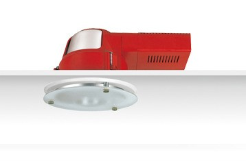 Uni PL S.Frost Reflector Downlight with Dropped Frosted Glass Sunny Lighting