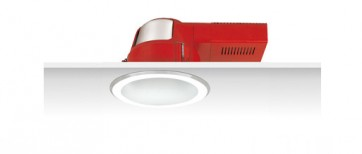 Uni PL S.Frost Reflector Horizontal Downlight with Frosted Glass Cover Sunny Lighting