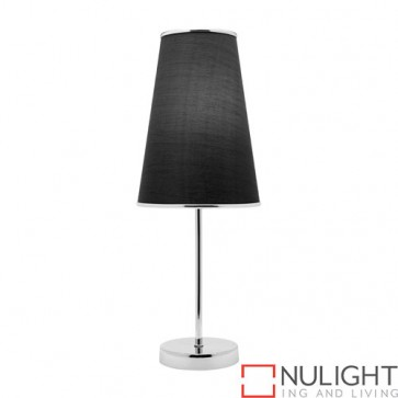 Susie 1 Light Table Lamp Black COU