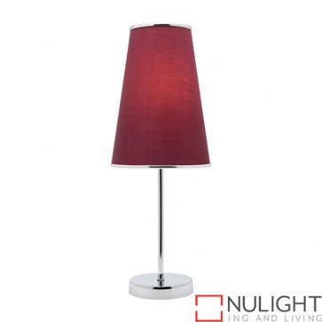 Susie 1 Light Table Lamp Purple COU