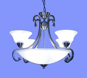 lighting australia serena 4 light inverted bowl pendant v m imports. Black Bedroom Furniture Sets. Home Design Ideas