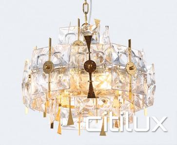 Varvara 6 Lights Pendant Gold Citilux