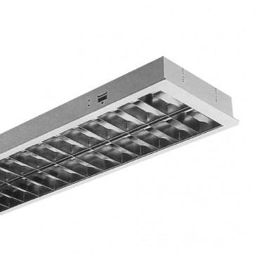 T5 Plaster Troffer Frame for Recessed Fluorescent Fitting Vibe Lighting