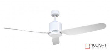 ASHTON - 52 inch 1300mm ABS 3 Blade Ceiling Fan in Satin White VTA
