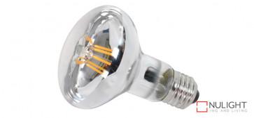 6 watt R80 LED Globe, 700Lm, 4000K NW, Dimensions 80mm x 110mm VTA
