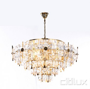 Zlata 12 Lights Pendant Gold Citilux