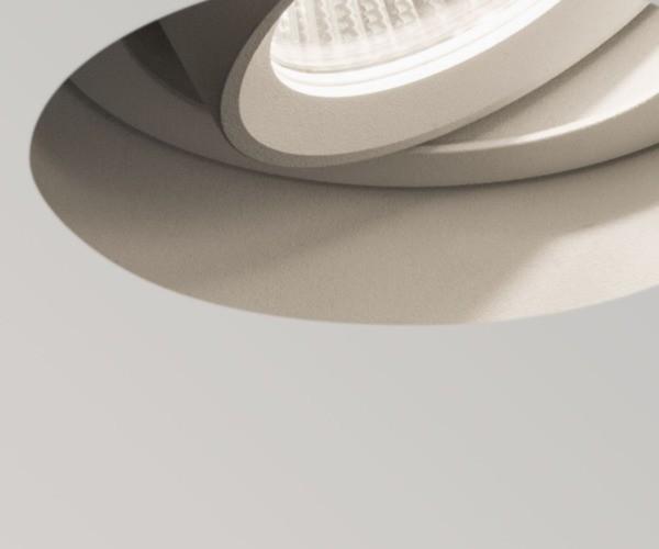 Trimless Round LED Adjustable 5700 Indoor Downlights Zoom