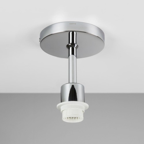 Semi Flush Unit Polished Chrome 7460 Indoor Ceiling Lights