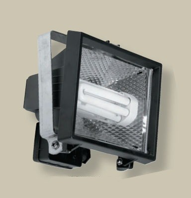 Halogen security floodlight
