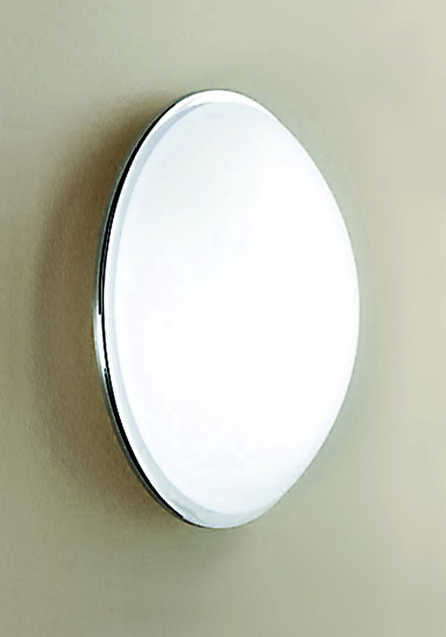 Lighting Australia Reggio Slim Profile Ceiling/Wall Lamp in White Arte Vetro - NULighting.com.au