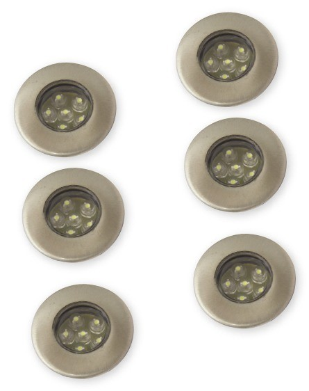 lighting australia 6 pack led deck light kit atom lighting