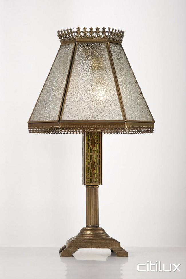 Lighting Australia Bondi Traditional Brass Table Lamp Elegant Range Citilux Nulighting Com Au