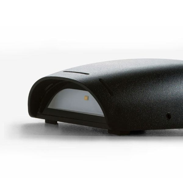 Lighting Australia W400 ES Curve LED Wall Light BrightGreen - NULighting.com.au