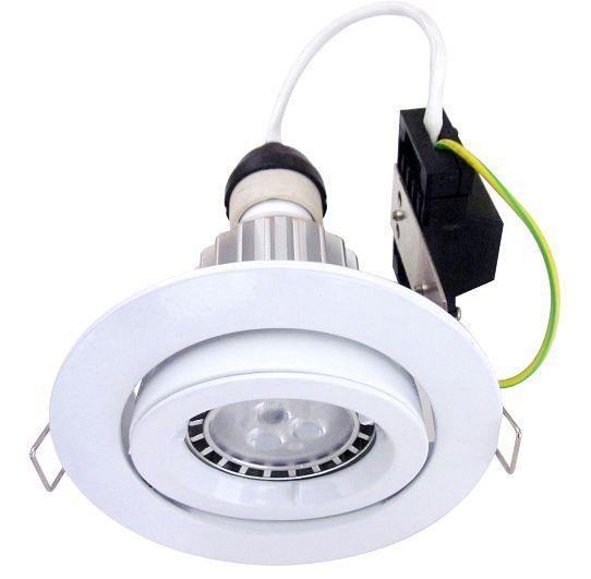kit spot led gu10 spotlight downlight hole converter plate kit with warm white gu10 cob led. Black Bedroom Furniture Sets. Home Design Ideas
