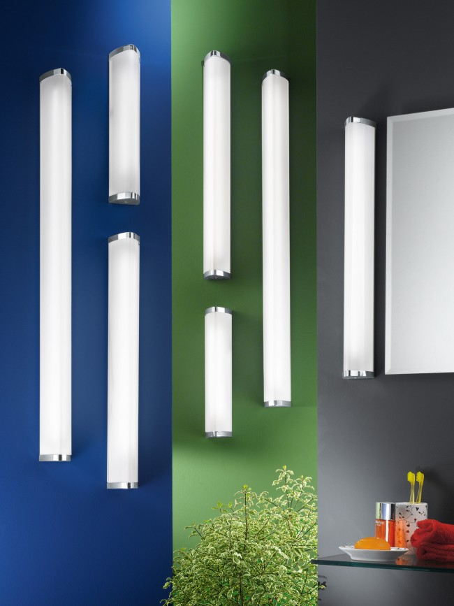 Lighting Australia | Gita IP44 1 Light Wall Vanity Light in Chrome ...