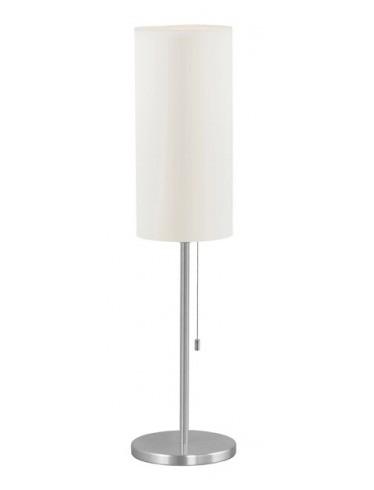 Tube 1 Light Table Lamp In Aluminium Brushed Eglo Lighting