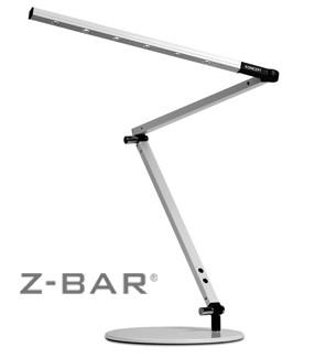 lighting australia gen 2 z bar led desk lamp in metallic black. Black Bedroom Furniture Sets. Home Design Ideas