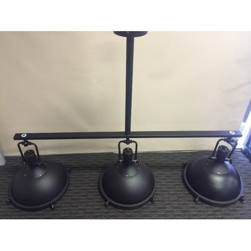 Industrial Pendant Light Australia: Glebe 3 Light Industrial Pendant Lamp