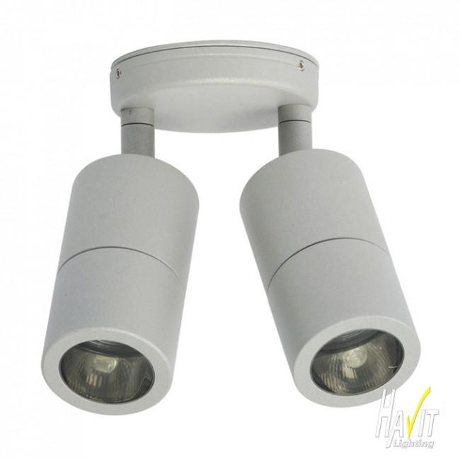 Lighting Australia 12V LED Tivah Small Adjustable Outdoor Wall Ceiling Pill