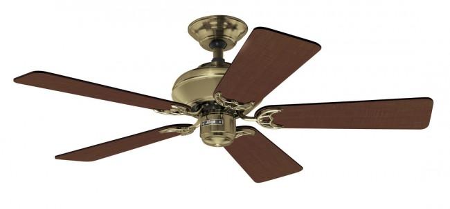 Lighting Australia | Builders Select Ceiling Fan in Antique Brass
