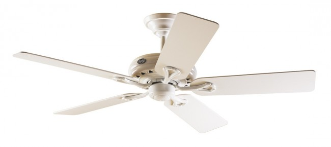 Lighting Australia Savoy Ceiling Fan In White With Five