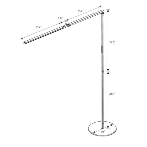 Z-BAR Gen 3 LED Floor Lamp Koncept