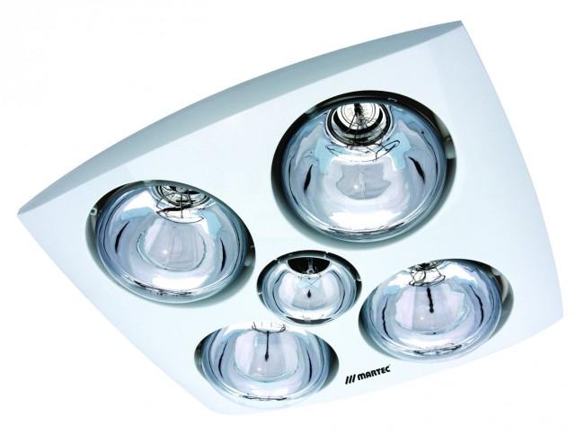Contour 4 Heat 3 In 1 Bathroom Heater Fan And Light In