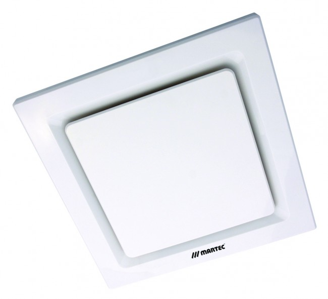 Lighting Australia Tetra Square Exhaust Fan In White Martec