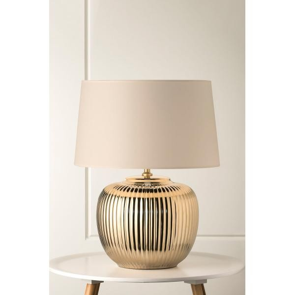 932 Vogue Polished Gold Table Lamp