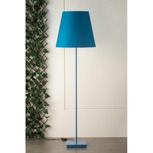Lighting Australia 1025 Ginger Sky Blue Floor Lamp
