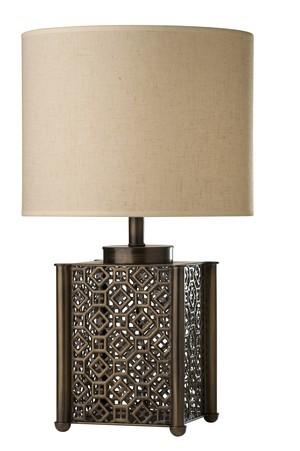 Lighting Australia 799 Omah Aged Bronze Table Lamp Nulighting Com Au