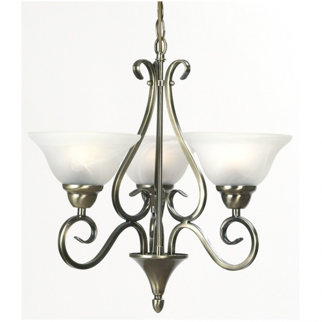 Lighting Australia Ashley Three Light Pendant Mercator