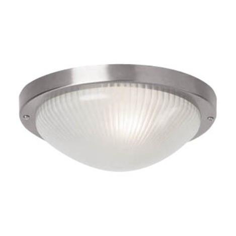 Lighting australia forte large round exterior ceiling flush mount mercator lighting for Round exterior lights