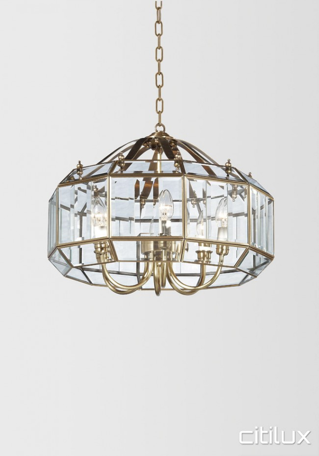 Minchinbury Traditional Brass Made Dining Room Pendant Light Elegant Range Citilux