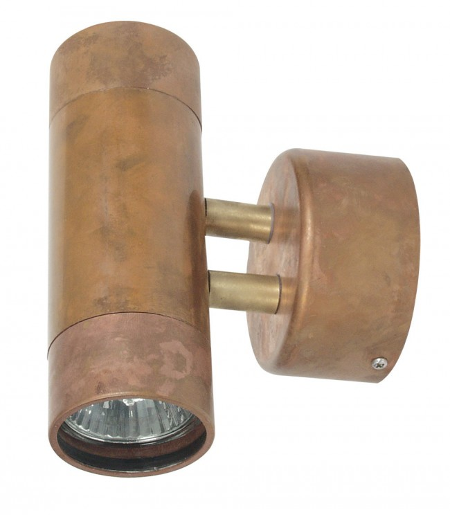 Lighting Australia Comma 2 Light Wall Sconces in Copper Oriel Lighting - NULighting.com.au