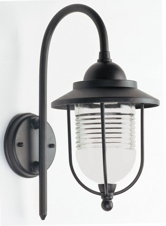 Lighting australia domo exterior wall bracket in black oriel lighting for Exterior wall lights australia