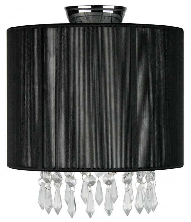 Lighting Australia Karella Diy Flush Mount In Black