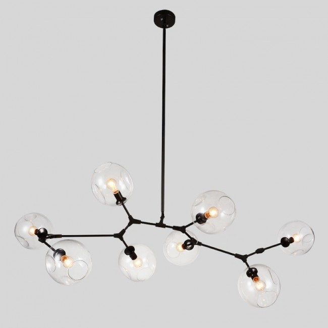 replica lindsey adelman bubble chandelier 8 pendant light citilux - Bubble Chandelier