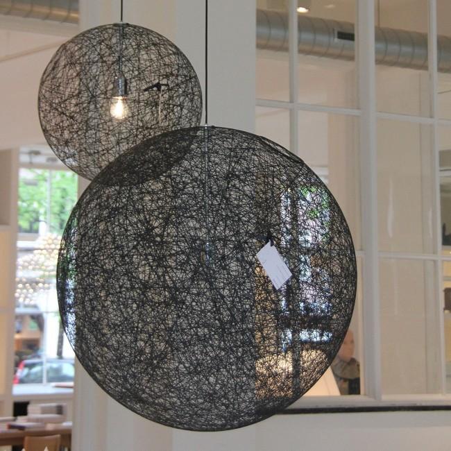 replica lighting. Replica Moooi Random Pendant Lamp-Black 80cm - Light Citilux Lighting