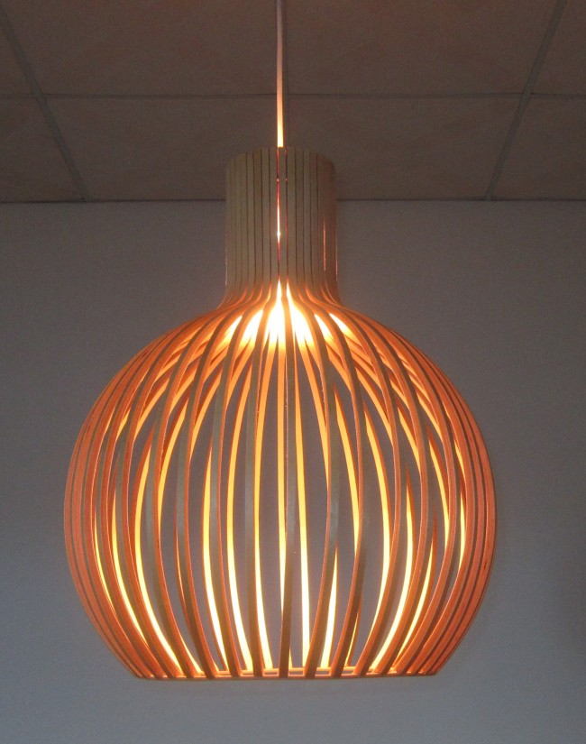 Lighting Australia Replica Wood Octo 4240 Pendant Lamp