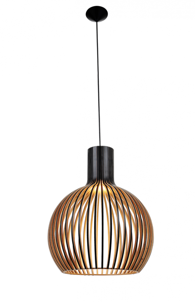 Lighting Australia Replica Wood Octo 4240 Pendant Lamp