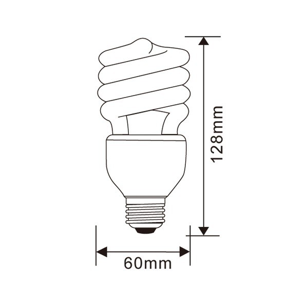 dimmable energy saving lamp e27 compact fluorescent bulb