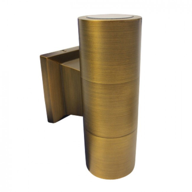Brass Up And Down Wall Lights Outdoor : Lighting Australia Turbo Up-Down Wall Light in Antique Bronze Tech Lights - NULighting.com.au