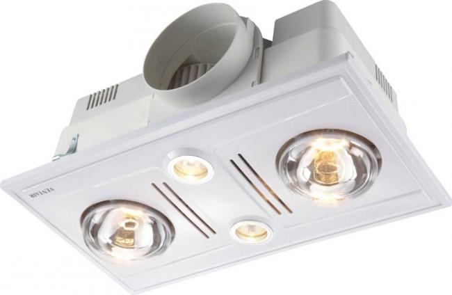 Lighting Australia | Garrison 4 High Airflow Bathroom Heat ...