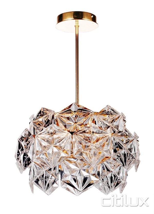 Lighting Australia Vera 6 Lights Pendant Rose Gold