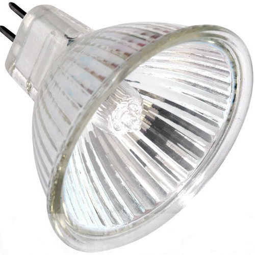 20W Low Voltage MR16 Halogen Bulb with cover glass and 38ø beam angle Vibe Lighting  sc 1 st  Nu Lighting & Lighting Australia | 20W Low Voltage MR16 Halogen Bulb with cover ...